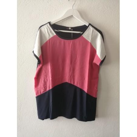 T-Shirt Colour block