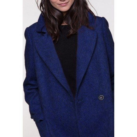 Manteau Beder Bleu