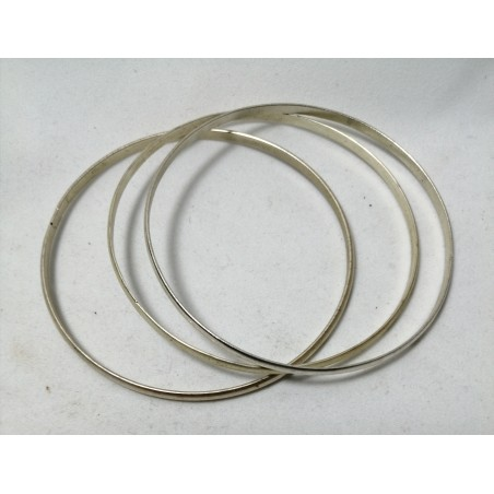 Bracelet métal 3 pièces